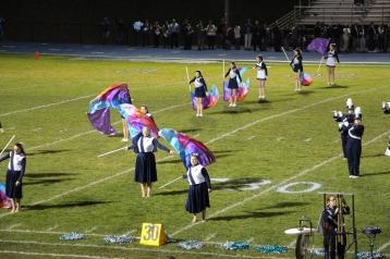 Senior Recognition Night, Raider Band, Cheerleader s Sports Stadium, Tamaqua, 11-6-2015 (325)