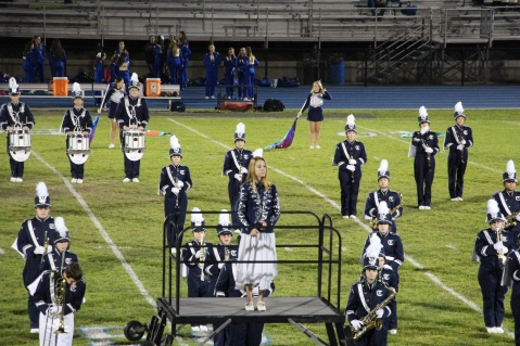 Senior Recognition Night, Raider Band, Cheerleader s Sports Stadium, Tamaqua, 11-6-2015 (327)