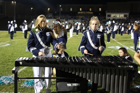 Senior Recognition Night, Raider Band, Cheerleader s Sports Stadium, Tamaqua, 11-6-2015 (336)