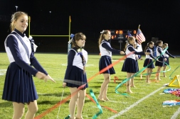 Senior Recognition Night, Raider Band, Cheerleader s Sports Stadium, Tamaqua, 11-6-2015 (339)