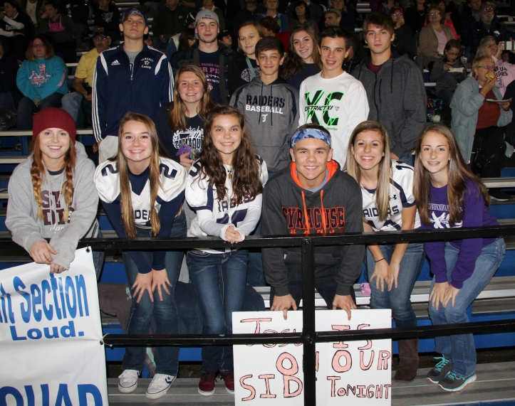 Senior Recognition Night, Raider Band, Cheerleader s Sports Stadium, Tamaqua, 11-6-2015 (343)