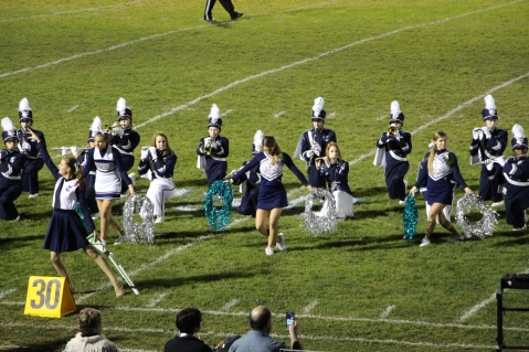 Senior Recognition Night, Raider Band, Cheerleader s Sports Stadium, Tamaqua, 11-6-2015 (359)