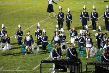 Senior Recognition Night, Raider Band, Cheerleader s Sports Stadium, Tamaqua, 11-6-2015 (360)