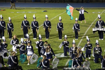 Senior Recognition Night, Raider Band, Cheerleader s Sports Stadium, Tamaqua, 11-6-2015 (361)
