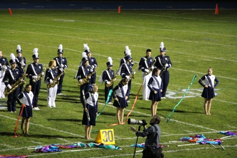 Senior Recognition Night, Raider Band, Cheerleader s Sports Stadium, Tamaqua, 11-6-2015 (370)