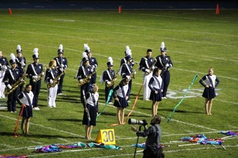 Senior Recognition Night, Raider Band, Cheerleader s Sports Stadium, Tamaqua, 11-6-2015 (370)