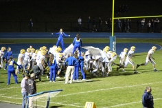Senior Recognition Night, Raider Band, Cheerleader s Sports Stadium, Tamaqua, 11-6-2015 (379)