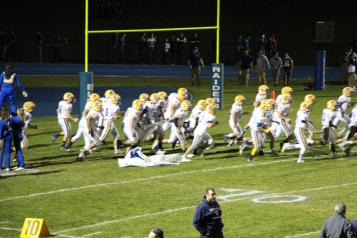 Senior Recognition Night, Raider Band, Cheerleader s Sports Stadium, Tamaqua, 11-6-2015 (383)