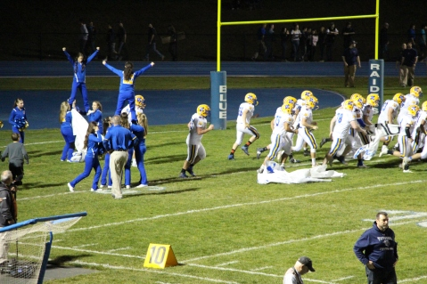 Senior Recognition Night, Raider Band, Cheerleader s Sports Stadium, Tamaqua, 11-6-2015 (384)