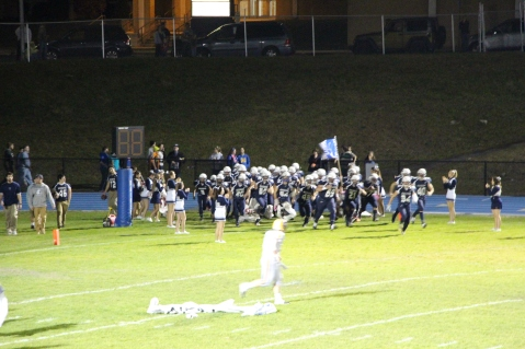 Senior Recognition Night, Raider Band, Cheerleader s Sports Stadium, Tamaqua, 11-6-2015 (395)
