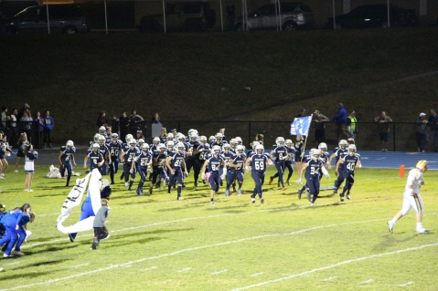 Senior Recognition Night, Raider Band, Cheerleader s Sports Stadium, Tamaqua, 11-6-2015 (403)