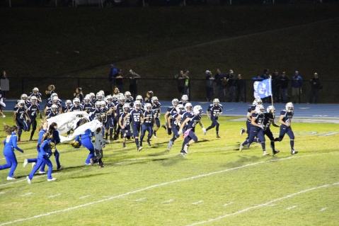 Senior Recognition Night, Raider Band, Cheerleader s Sports Stadium, Tamaqua, 11-6-2015 (406)