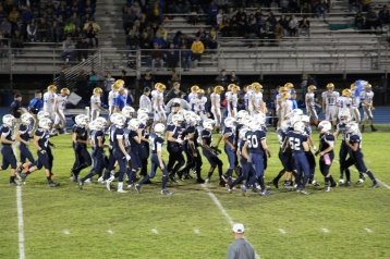 Senior Recognition Night, Raider Band, Cheerleader s Sports Stadium, Tamaqua, 11-6-2015 (426)