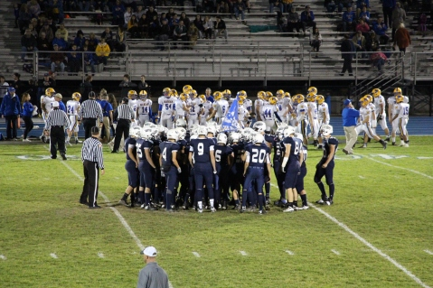 Senior Recognition Night, Raider Band, Cheerleader s Sports Stadium, Tamaqua, 11-6-2015 (428)