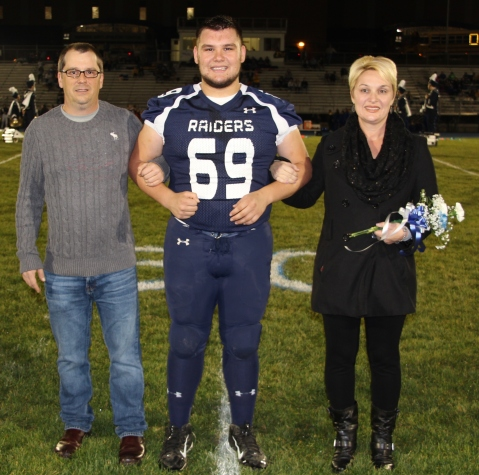 Senior Recognition Night, Tamaqua Area High School, Sports Stadium, Tamaqua, 11-6-2015 (1)