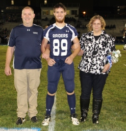 Senior Recognition Night, Tamaqua Area High School, Sports Stadium, Tamaqua, 11-6-2015 (18)