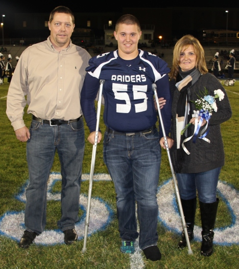 Senior Recognition Night, Tamaqua Area High School, Sports Stadium, Tamaqua, 11-6-2015 (19)