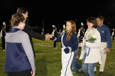 Senior Recognition Night, Tamaqua Area High School, Sports Stadium, Tamaqua, 11-6-2015 (205)