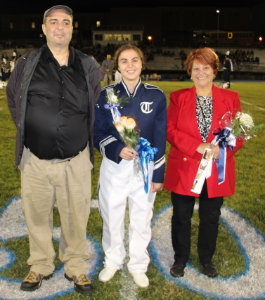 Senior Recognition Night, Tamaqua Area High School, Sports Stadium, Tamaqua, 11-6-2015 (208)