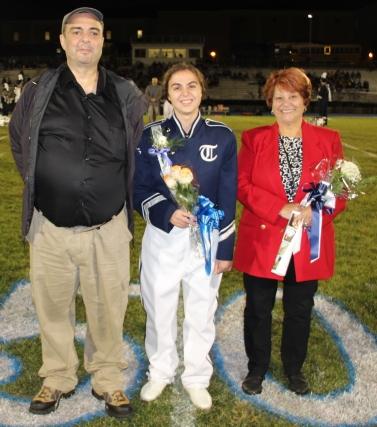 Senior Recognition Night, Tamaqua Area High School, Sports Stadium, Tamaqua, 11-6-2015 (208)