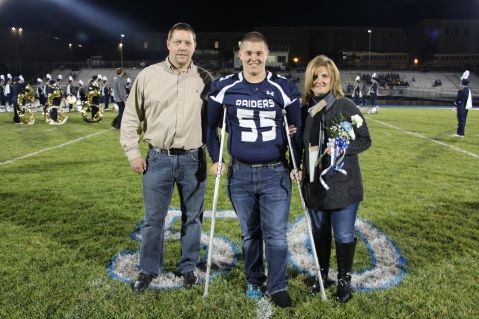 Senior Recognition Night, Tamaqua Area High School, Sports Stadium, Tamaqua, 11-6-2015 (21)