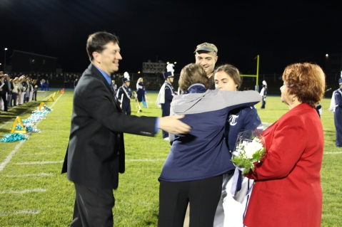 Senior Recognition Night, Tamaqua Area High School, Sports Stadium, Tamaqua, 11-6-2015 (215)