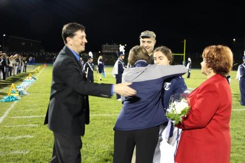 Senior Recognition Night, Tamaqua Area High School, Sports Stadium, Tamaqua, 11-6-2015 (215)