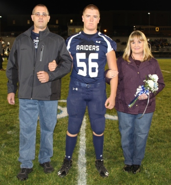 Senior Recognition Night, Tamaqua Area High School, Sports Stadium, Tamaqua, 11-6-2015 (22)