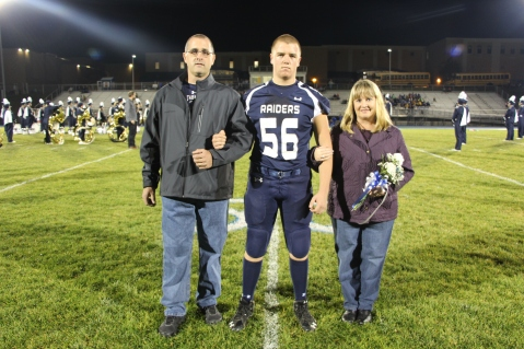 Senior Recognition Night, Tamaqua Area High School, Sports Stadium, Tamaqua, 11-6-2015 (23)
