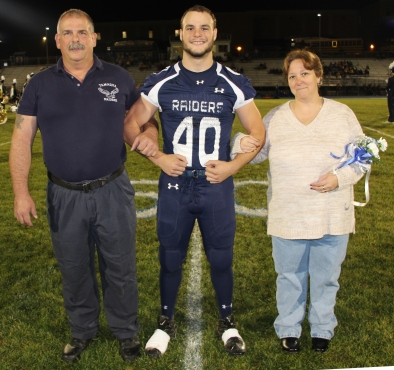 Senior Recognition Night, Tamaqua Area High School, Sports Stadium, Tamaqua, 11-6-2015 (37)