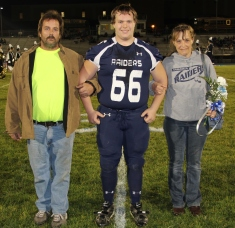 Senior Recognition Night, Tamaqua Area High School, Sports Stadium, Tamaqua, 11-6-2015 (4)