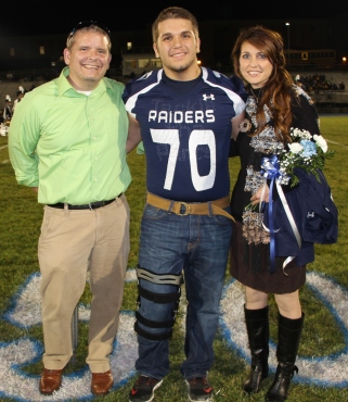 Senior Recognition Night, Tamaqua Area High School, Sports Stadium, Tamaqua, 11-6-2015 (42)