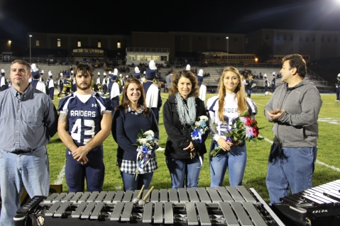 Senior Recognition Night, Tamaqua Area High School, Sports Stadium, Tamaqua, 11-6-2015 (54)