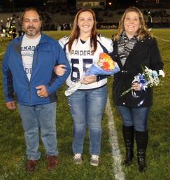 Senior Recognition Night, Tamaqua Area High School, Sports Stadium, Tamaqua, 11-6-2015 (55)