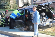 Single Vehicle Accident, 518 East Broad Street, Tamaqua, 11-30-2015 (2)