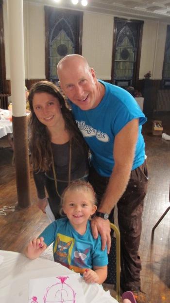 Stephen Bennett, Kids Portrait Painting Workshop, Community Arts Center, Tamaqua, 9-29-2015 (15)
