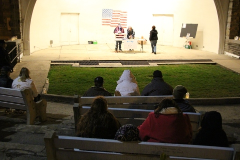 Suicide Prevention Day Program, Amphitheatre, Lehighton, 11-21-2015 (12)