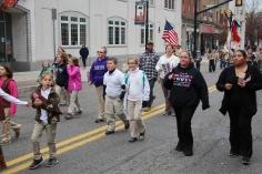 Tamaqua American Legion Veterans Day Parade, Broad Street, Tamaqua, 11-7-2015 (508)