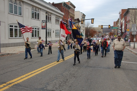 Tamaqua American Legion Veterans Day Parade, Broad Street, Tamaqua, 11-7-2015 (513)