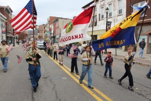 Tamaqua American Legion Veterans Day Parade, Broad Street, Tamaqua, 11-7-2015 (518)