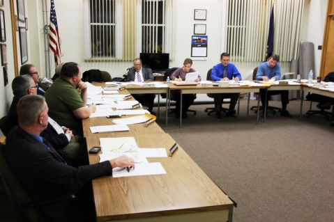 Tamaqua Borough Council Meeting, Borough Hall, Tamaqua, 11-17-2015 (1)