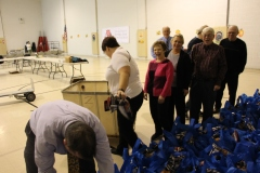 Tamaqua Rotary Club Sort Hundreds of Food Donations, Salvation Army, Tamaqua (2)