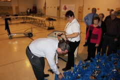 Tamaqua Rotary Club Sort Hundreds of Food Donations, Salvation Army, Tamaqua (3)
