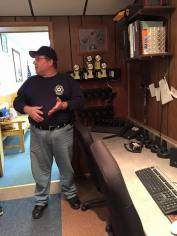 Tamaqua Salvation Army Youth Group Visits South Ward Fire Company, Tamaqua, 10-8-2015 (100)