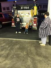 Tamaqua Salvation Army Youth Group Visits South Ward Fire Company, Tamaqua, 10-8-2015 (202)