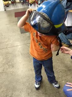 Tamaqua Salvation Army Youth Group Visits South Ward Fire Company, Tamaqua, 10-8-2015 (206)