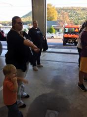 Tamaqua Salvation Army Youth Group Visits South Ward Fire Company, Tamaqua, 10-8-2015 (215)