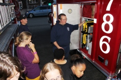Tamaqua Salvation Army Youth Group Visits South Ward Fire Company, Tamaqua, 10-8-2015 (39)