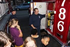 Tamaqua Salvation Army Youth Group Visits South Ward Fire Company, Tamaqua, 10-8-2015 (39)
