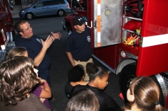 Tamaqua Salvation Army Youth Group Visits South Ward Fire Company, Tamaqua, 10-8-2015 (44)